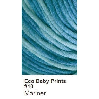 Debbie Bliss Eco Baby Yarn - Prints Mariner 10 - 11