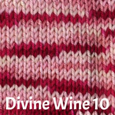 Ella Rae Cozy Soft Prints Yarn Divine Wine 10 - 10