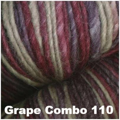 Juniper Moon Farm- Moonshine Trios Yarn Grape Combo 110 - 8