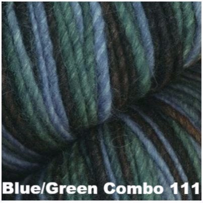 Juniper Moon Farm- Moonshine Trios Yarn Blue/Green Combo 111 - 9