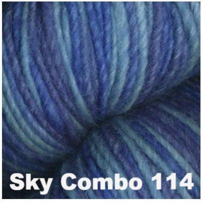 Juniper Moon Farm- Moonshine Trios Yarn Sky Combo 114 - 11