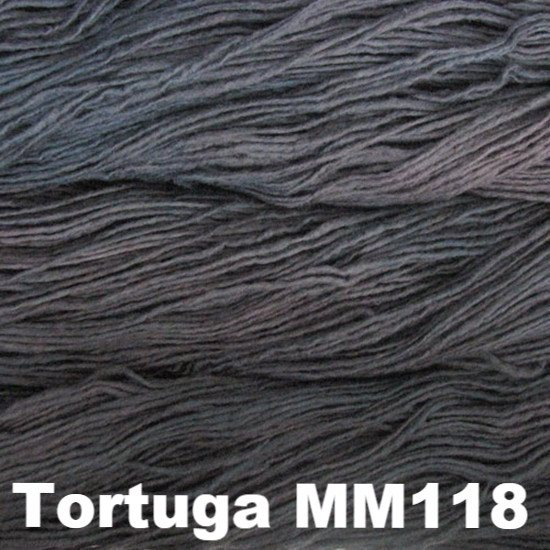 Malabrigo Worsted Yarn Semi-Solids Tortuga MM118 - 50