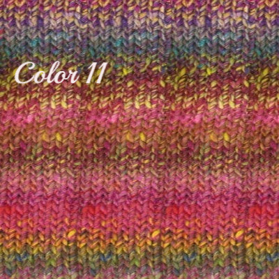 Noro Ginga Yarn Pinks Lemon Violet 11 - 7