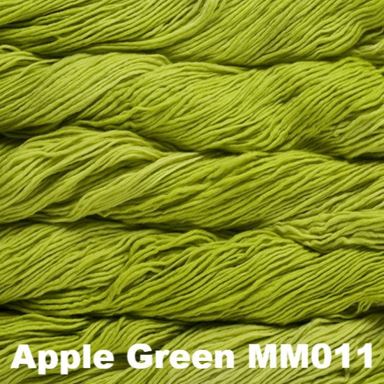 Malabrigo Worsted Yarn Semi-Solids Apple Green MM011 - 36