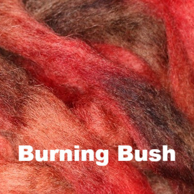 Louet Northern Lights Space Dyed Wool Tops (1/2 lb bags) Burning Bush - 14