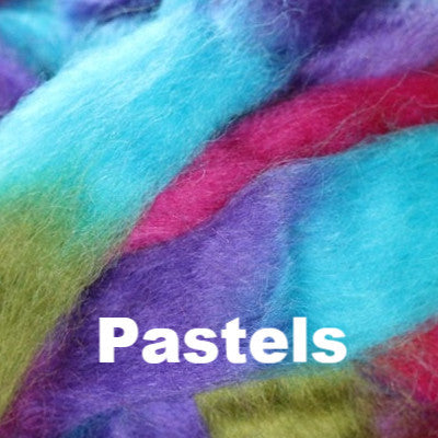 Louet Northern Lights Space Dyed Wool Tops (1/2 lb bags) Pastels - 3