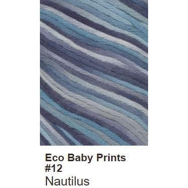 Debbie Bliss Eco Baby Yarn - Prints Nautilus 12 - 13