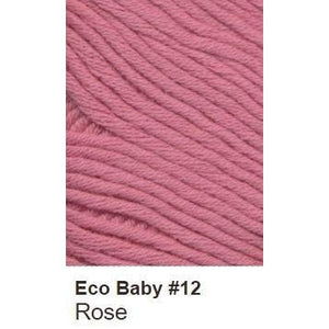 Debbie Bliss Eco Baby Yarn - Solids Rose 12 - 5