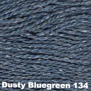 Elsebeth Lavold Designer's Choice Silky Wool Yarn-Yarn-Dusty Bluegreen 134-