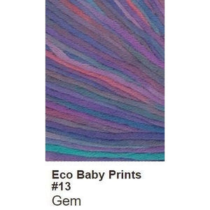 Debbie Bliss Eco Baby Yarn - Prints-Yarn-Gem 13-