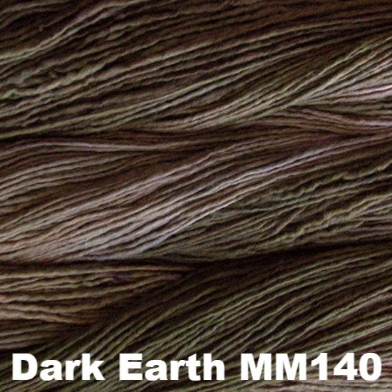 Malabrigo Worsted Yarn Semi-Solids Dark Earth MM140 - 83