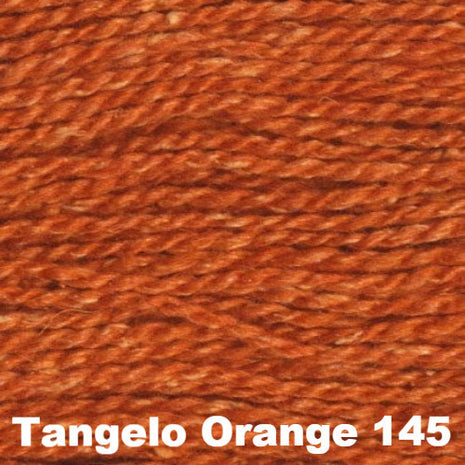 Elsebeth Lavold Designer's Choice Silky Wool Yarn Tangelo Orange 145 - 56