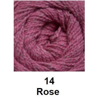 Cascade Roslyn Yarn Rose 14 - 16