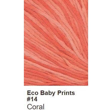 Debbie Bliss Eco Baby Yarn - Prints Coral 14 - 15
