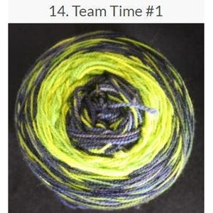 Done Roving Frolicking Feet Transitions Yarn-Yarn-Team Time #1 14-