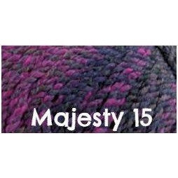 James C. Brett Marble Chunky Yarn Majesty 15 - 10