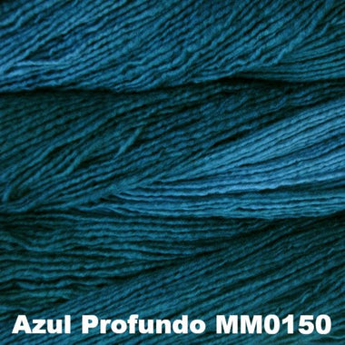 Paradise Fibers Yarn Malabrigo Worsted Yarn Semi-Solids Azul Profundo MM150 - 1