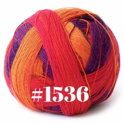 Paradise Fibers Yarn Schoppel-Wolle Zauberball Lace Ball Yarn 1536 - 3