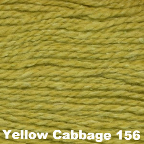 Elsebeth Lavold Designer's Choice Silky Wool Yarn Yellow Cabbage 156 - 64