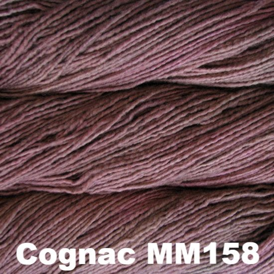 Malabrigo Worsted Yarn Semi-Solids Cognac MM158 - 73