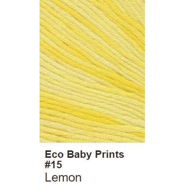 Debbie Bliss Eco Baby Yarn - Prints Lemon 15 - 16