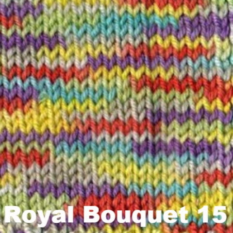 Ella Rae Cozy Soft Prints Yarn Royal Bouquet 15 - 14