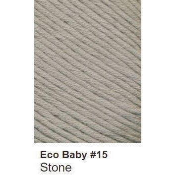 Debbie Bliss Eco Baby Yarn - Solids Stone 15 - 6