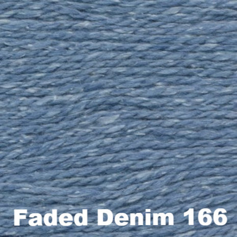 Elsebeth Lavold Designer's Choice Silky Wool Yarn Faded Denim 166 - 73