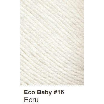 Debbie Bliss Eco Baby Yarn - Solids Ecru 16 - 7
