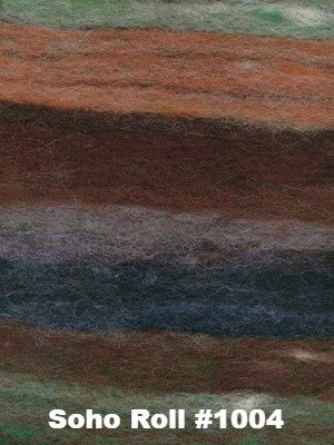 Noro Rainbow Roll Throw Kit-Kits-Soho Roll #1004-