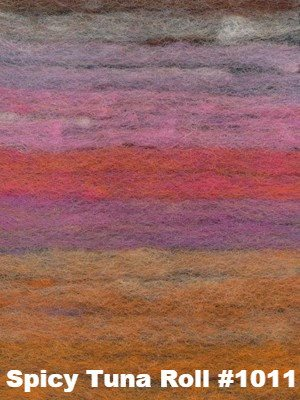 Paradise Fibers Kits Noro Rainbow Roll Throw Kit Spicy Tuna Roll #1011 - 5