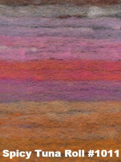 Noro Felted Entrelac Bag Kit Spicy Tuna Roll #1011 - 2