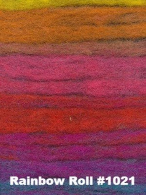 Noro Felted Entrelac Bag Kit Rainbow Roll #1021 - 6