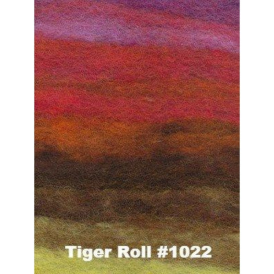 NORO Rainbow Roll Rovings Tiger Roll #1022 - 4
