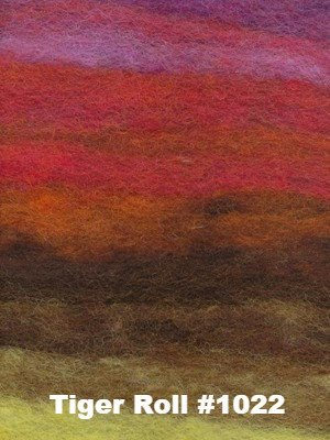 Paradise Fibers Kits Noro Rainbow Roll Throw Kit Tiger Roll #1022 - 3