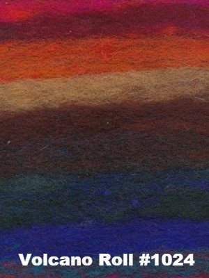 Noro Rainbow Roll Throw Kit-Kits-Volcano Roll #1024-
