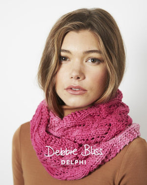 Lace Cowl Pattern-Patterns-