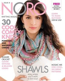 Noro Knitting Magazine Spring/Summer 2016- Issue 8  - 1