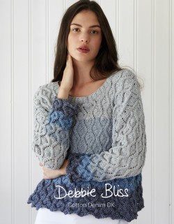 Debbie Bliss Cotton Denim DK Pattern Book