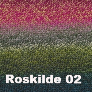 Debbie Bliss Rialto Luxury Sock Yarn Roskilde 02 - 12