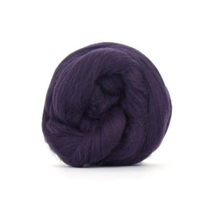 Paradise Fibers Solid Colored Merino Wool Top - Storm-Fiber-4oz-