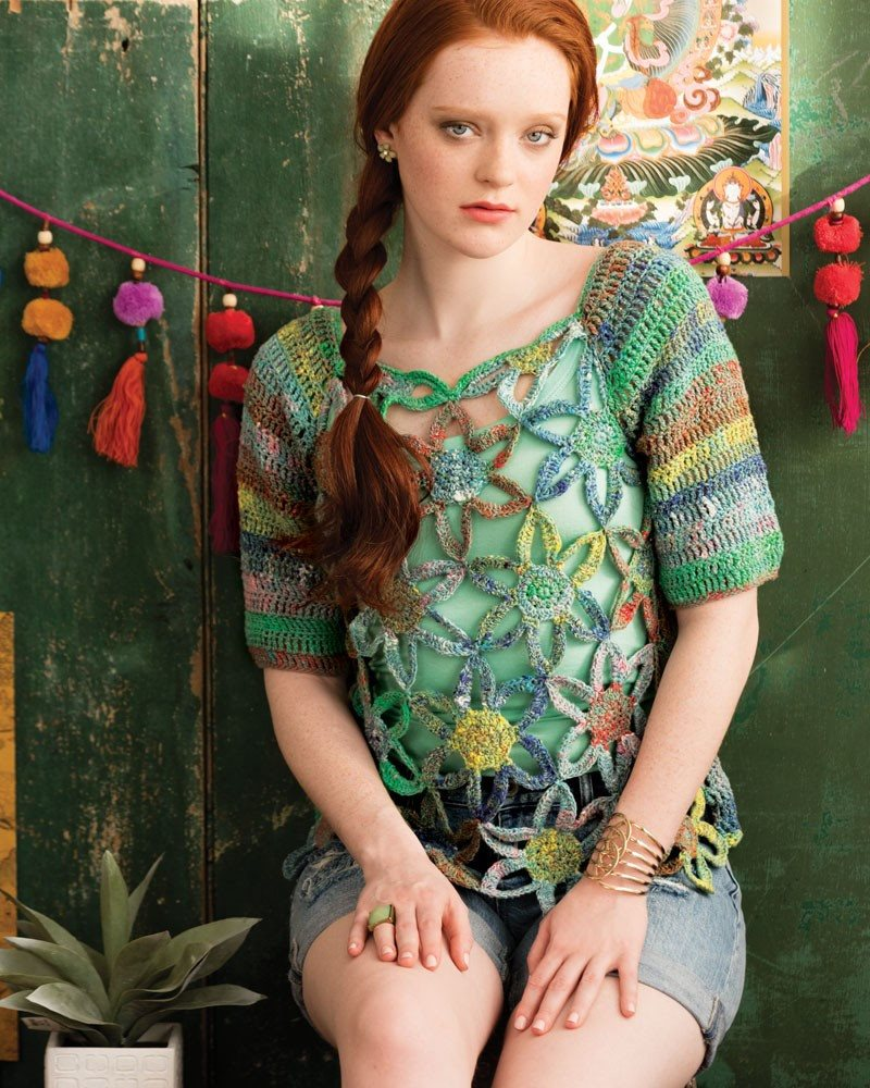Noro Knitting Magazine Spring/Summer 2016- Issue 8  - 15