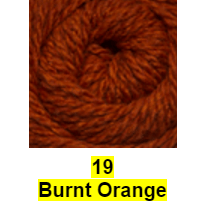 Cascade Tivoli Yarn Burnt Orange 19 - 18