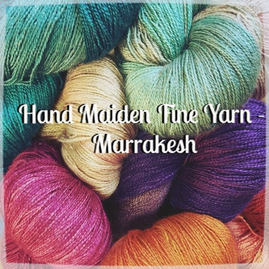 Paradise Fibers Yarn Hand Maiden Marrakesh Yarn  - 1