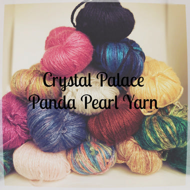 Crystal Palace Panda Pearl Yarn-Yarn-Crystal Palace Yarns-7005 Bamboo Green-Paradise Fibers
