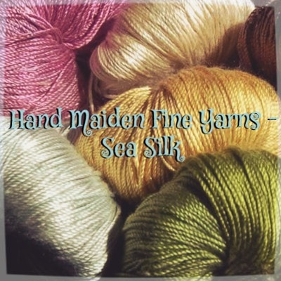 Hand Maiden Fine Yarns - Sea Silk  - 1
