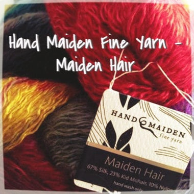 Hand Maiden Fine Yarns - Maiden Hair  - 1