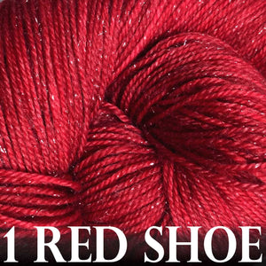 Paradise Fibers Yarn Anzula Luxury Nebula Yarn 1 Red Shoe - 3