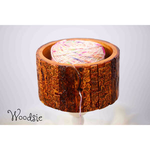 Paradise Fibers Artisan Wooden Yarn Bowls-Knitting Accessory-Woodsie-
