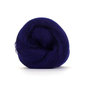 Paradise Fibers Solid Colored Merino Wool Top - Tanzanite